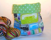 Mixtape project bag by AnniePurl