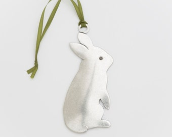 beehive bunny christmas ornament