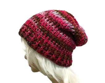 Slouchy Beanie Grunge Hat Gamer Gear Mens Womens Slouch Hat One of a Kind Colors Ready to Ship