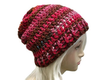 Boh Chic Slouchy Beanie Hippie Hat Mens Womens Slouch Hat One of a Kind Colors Ready to Ship