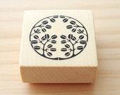 Rubber stamp - Japanese family crest design stamp - 02