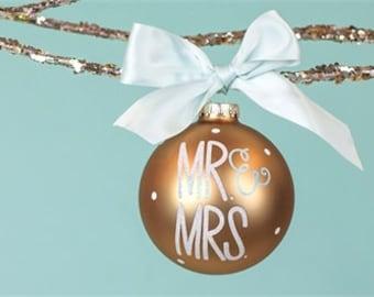 Mr. & Mrs. Ornamanet Personalized