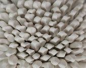 Agave - Porcelain Micro Tile - Ceramic Wall Sculpture 3D wall art texture tile