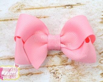 """2.5"""" Basic Bow - Hair Bow - Your Color Choice"""