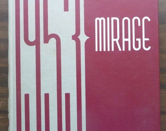Trintiy University TU San Antonio Texas Mirage Yearbook 1953