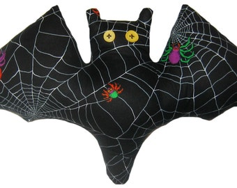 Colorful Spider Bat Pillow