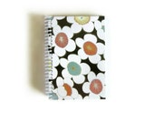 Japanese Flowers - Notebook Spiral Bound - 4x6in