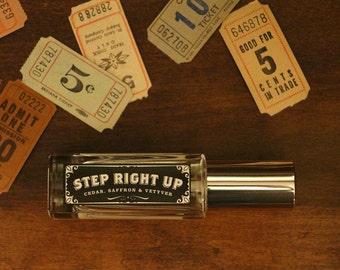 Step Right Up - Cedar, Saffron and Vetyver - Perfume Oil Spray