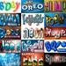 PhotoShop Actions Graphics Set fonts alpha banners