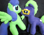 Custom OC My Little Pony Embroidered Plush Plushie
