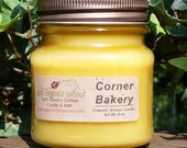 CORNER BAKERY CANDLE - Vanilla Candles, Bakery Candles, Cookie Dough Candles, Cake Batter Candles, Almond Candles, Pastry Candles, Scented