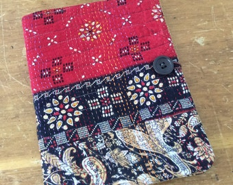 Kantha Journal - COMPOSITION Notebook Book Cover - urban Gypsy
