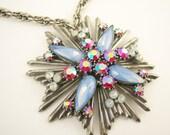 Vintage Florenza Necklace Pendant