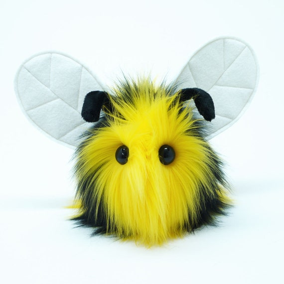 Stuffed Animal Cute Plush Toy Bumble Bee Kawaii Plushie Bumble