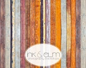 "Fall Photography Backdrop 6ft x 6ft, Autumn wood planks photography backdrop, Fall color wood ""Maximus"""