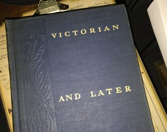 1937 Victorian and Later English Poets