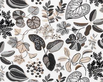 Foliage - IKEA Syssan Linen / Cotton Blend Fabric