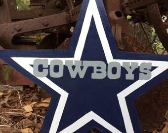 Dallas cowboy yard art