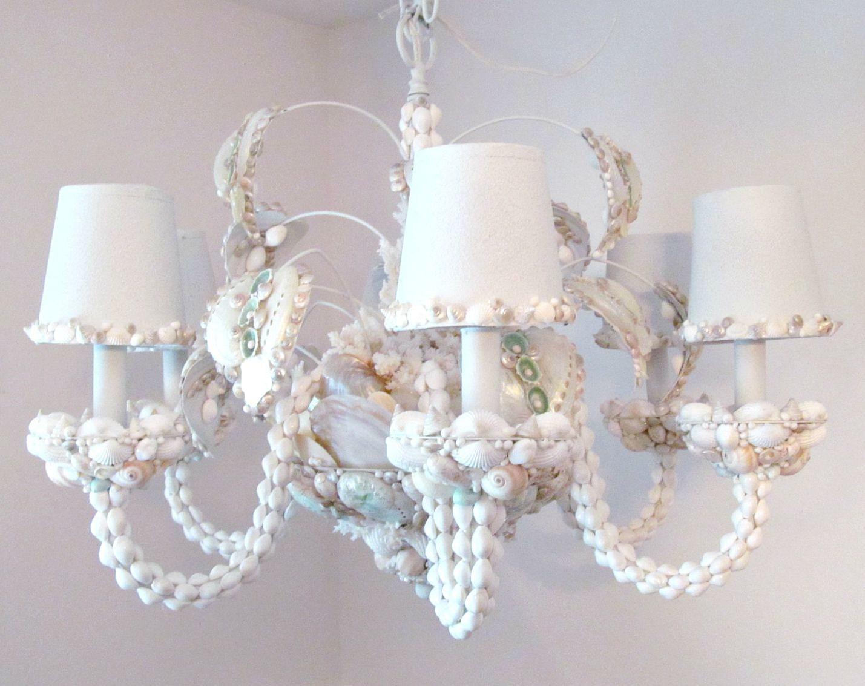 seashell chandelier chandelier lighting shell