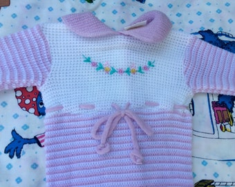 Vintage Knit Sleeper 3-6 Months