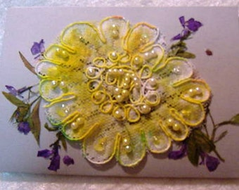 A Simple Little Handmade Birthday Card at a Very Reasonable Price
