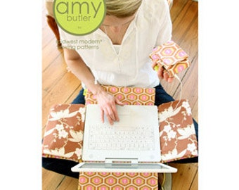 Amy Butler Laptop Cover, MP3 Case Pattern - Amy Butler Sewing Pattern - SALE