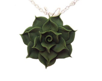 Succulent Necklace - Succulent Jewelry