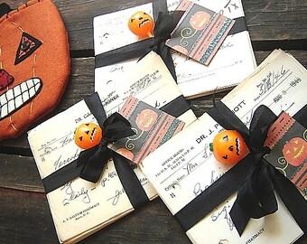 Vintage Halloween Decor, Spooky Vintage Bundle of Potions, Harry Potter Spells