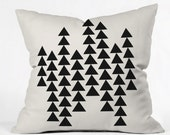 Arrowing Throw Pillow