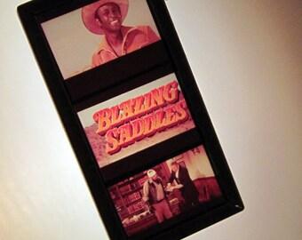 Blazing Saddles Copper Pendant - Recycled Movie Film