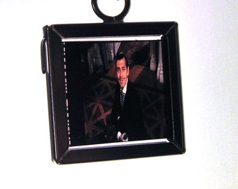Gone with the Wind Necklace - Recycled Movie Film - Rhett Butler
