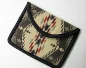 Kindle Paperwhite Sleeve Cover Case Blanket Weight Wool Pouch Padded Native American Print