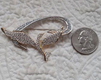 Authentic SWAROVSKI Limited Edition  Freedom Dove Crystal Rhodium Brooch/Pin