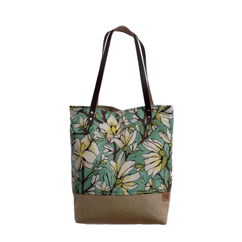 summer bag floral tote market tote bag resort bag