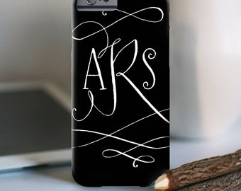 """Personalized iPhone 6s Case and other models, """"flourish design"""""""