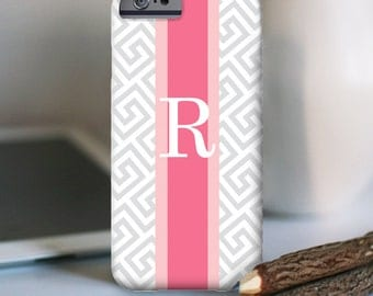 iPhone 7 Personalized Case  - Greek key Rugny Stripe  - other models available