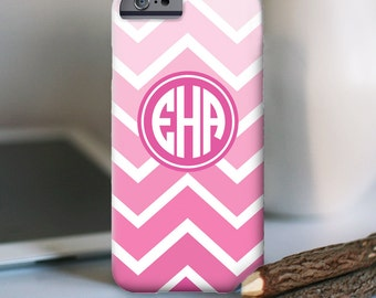 iPhone 7 Personalized Case  - Ombre monogram  - other models available