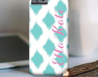 iPhone 7 Personalized Case  - Ikat  - other models available