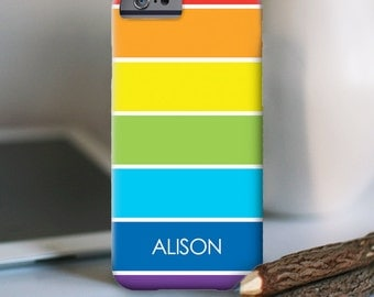 iPhone 7 Personalized Case  - Rainbow  - other models available