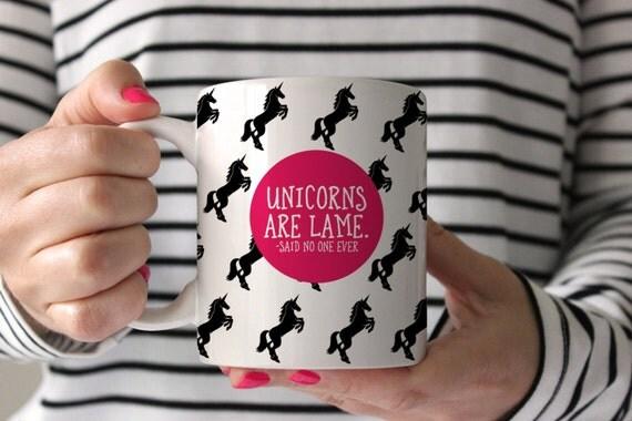 Unicorn Mug Funny Coffee Birthday