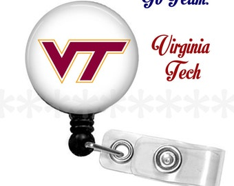 ID reel with MYLAR covering...Virginia Tech