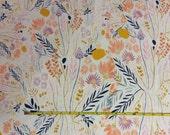 NEW Art Gallery Wispy Daybreak Aura on cotton Lycra  knit fabric 1 yard