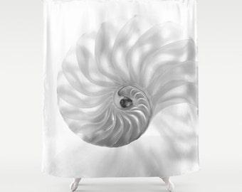 Chambered Nautilus Shower Curtain...