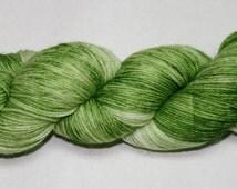 Grass Hand Dyed Sock Yarn