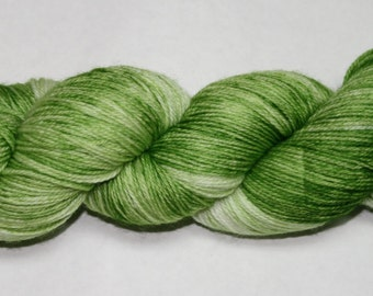 Grass Hand Dyed Sock Yarn