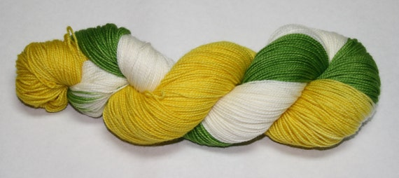 Buddy the Elf Hand Dyed Sock Yarn