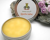 Sports Salve for Sore Muscles - Workout, Sports, Hiking, Muscles, Sore Muscles, Herbal Salve, Sports Rub