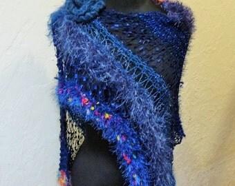 Knitted Shrug / Shawl The Blues