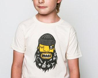 Kids Organic Blackbeard Tee