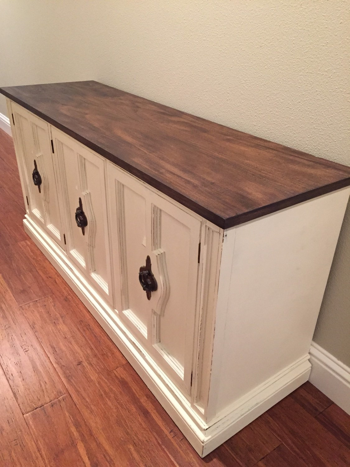 Refinished sideboard buffet for Painted buffet sideboard